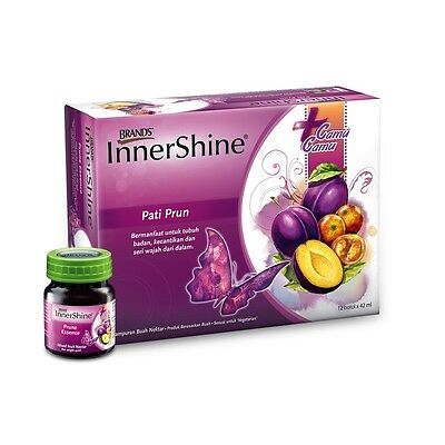 Brand's Innershine Prune Essence Plus Camu Camu 12 bottles x42 ml High Vitamin C