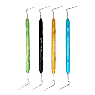 1Set Dental Niti/SSt Heat Carrier Plugger Endo Root Canal Spreaders & Pluggers