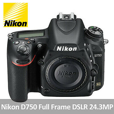 Nikon D750 D750K Digital SLR Camera FX-format Full Frame DSLR 24.3MP (Body Only)