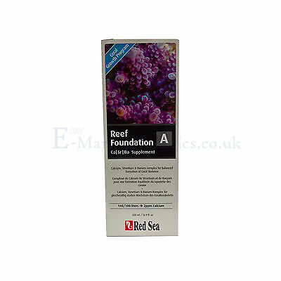 RED SEA REEF FOUNDATION A (Ca/Sr) calcium / strontium LIQUID 500ml