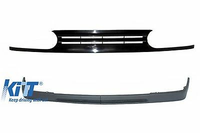 VW Golf 3 III Front Grille GTI 92-97 + Front Bumper Spoiler Lip Extension VR6
