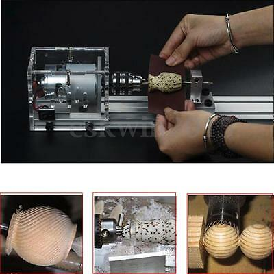 Woodworking DIY Machine Lathe Beads Polisher Table Saw Cutting Drill Rotary Tool