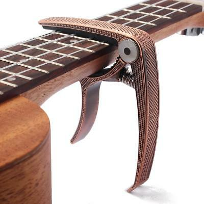 Capo – Quick Trigger Release for Acoustic & Electric Guitar/Ukulele-Brass