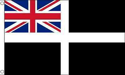 5' x 3' FLAG Cornwall Ensign Flags Cornish English County England Boat Ship ft