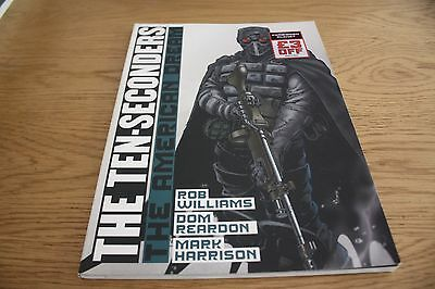 2000Ad Graphic Novel The Ten - Seconders