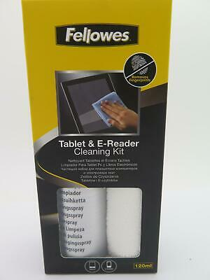 Fellowes Tablet & E-Reader Cleaning Kit Screen Cleaner  Microfibre Cloth 9930501