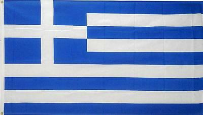 5' x 3' FLAG Greece Greek National Football Large Flags New