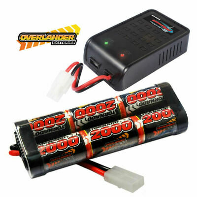 Radio/remote control model boat/car  Battery & Charger deal 2000ma top brand!