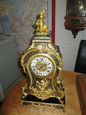 CLOCK RARE LOUIS XV BOULLE BRACKET CLOCK circa 1880 - # 808