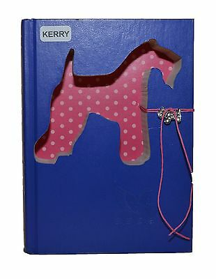 Kerry Blue Terrier Upcycled Book - 005
