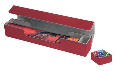 Ultimate Guard - Flip´n´Tray Mat Case XenoSkin Red - Spielmatten Box