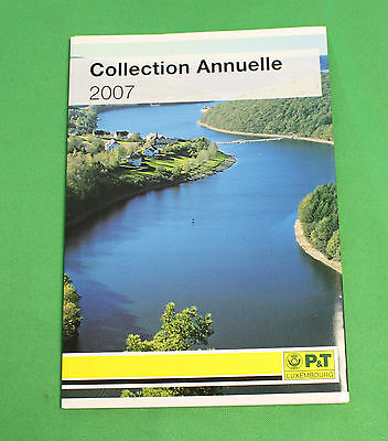 Luxembourg collection annuelle 2007 Stamps timbres