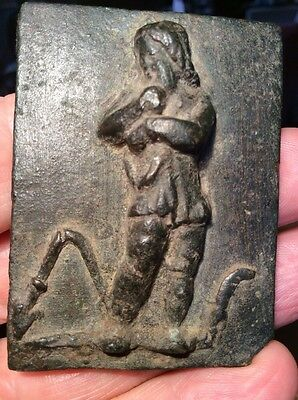 Rome Ancient DEFEATED GAUL  WARRIOR + Broken Spear - Plaque 100-200AD Published
