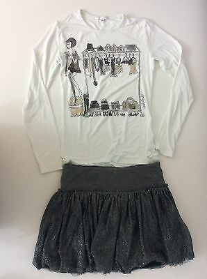 Miss Grant Girls Outfit, Set Skirt And Top. Size Age 11-12 Size 40, Vgc