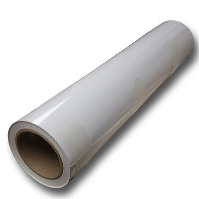 "Self-Adhesive Vinyl for Eco-Solvent - GLOSSY VINYL 54""x164' roll - R-Tech Brand"