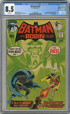 1971 Batman 232 CGC 8.5 1st Ras Al Ghul White Pages