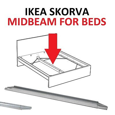 Ikea SKORVA Bed Midbeam Central Support,Galvanised,Adjustable length Max 223cm