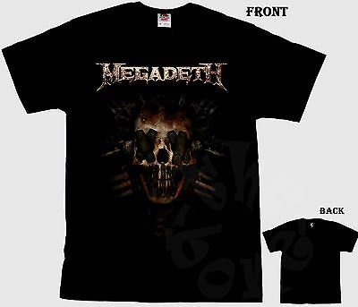 MEGADETH - American thrash metal band ,  T_shirt- sizes: S to 6XL