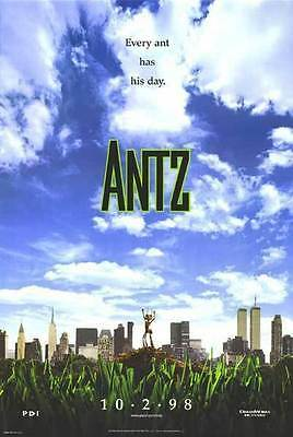 Antz New York  Double Sided Original Movie Poster 27x40 inches