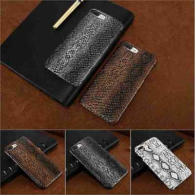 For iPhone X Xs Max 8/7 Plus 6 6s 5/5s SE Phone Case Snake Skin Hard Phone Case