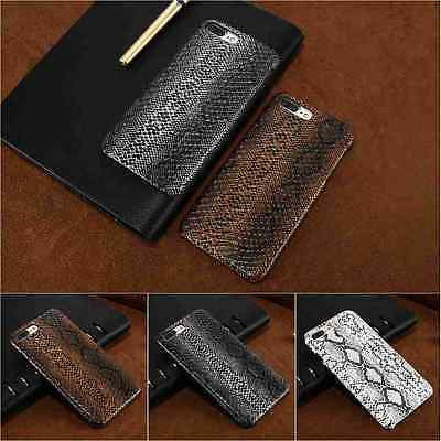 Snake Skin Hard Phone Case for iPhone X Xs Max Xr 8 7 Plus 6 6s 5 SE Samsung S7