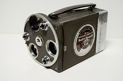 Bell & Howell 16mm Film Magazine Movie Camera 200 Body ONLY working