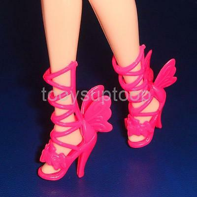 7 Pairs Assorted High Heels Shoes sandals For Barbie Dolls Fashion Colorful