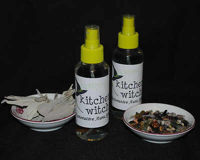 "REAL 100% ORGANIC WHITE SAGE SPRAY ""Restorative Blend"" SMUDGE CLEANSE PROTECT"