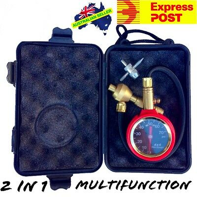 Rapid Tyre Deflator Professional 4WD Multifunction 2in1 Tyre Air Gauge EXPRESS