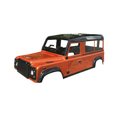 ABSIMA D110 CRAWLER BODY LIKE LAND ROVER DEFENDER - UNPAINTED (320mm wheel base)