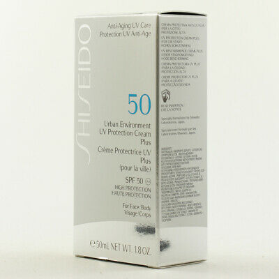 Shiseido Anti-Aging UV Care Protection Creme ★ Cream Plus SPF 50 50ml