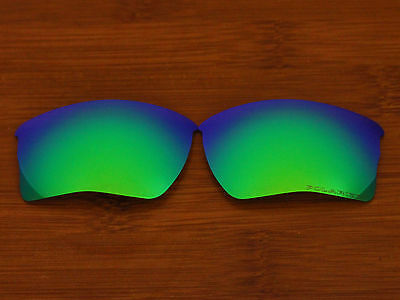 Replacement Green Blue Polarized Lenses for Quarter Jacket Sunglasses OO9200