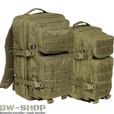 Us Assault Pack Rucksack Oliv Neu 30L & 50L Armee Outdoor Tasche Bw Cooper Army