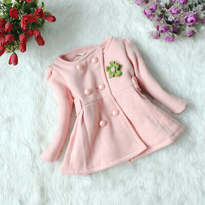 Pink Girls Swing Coat, 6-7 yrs, Next Day Dispatch. FREE shipping within the UK!