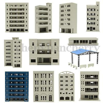 Unpainted Models Railway Modern School Office Building Train N HO OO Scale