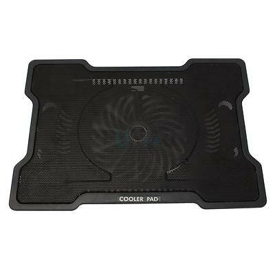 """1 Fan USB 17"""" Notebook Laptop PC Cooling Cooler Base Iron Network Stand Pad"""