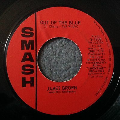 James Brown-Out Of The Blue -Smash. S-1908. Plays Vg