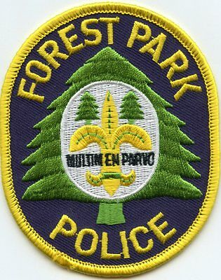 Forest Park Illinois Il Police Patch