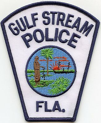 Gulf Stream Florida Fl Police Patch