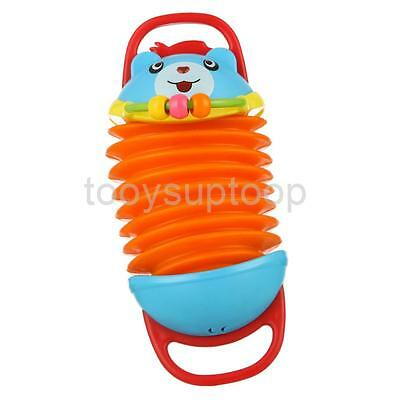 Fun Colorful Cartoon Accordion Instrument Musical Toy for Kids Birthday Gift