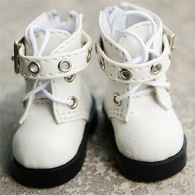 [wamami] 46# White 1/6 SD DOD AOD BJD Dollfie Synthetic Leather Boots/Shoes
