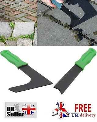 PATIO WEED MOSS REMOVER Garden Weeds Paving Brick Drive Tools Weeder Tool Plant