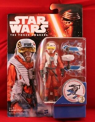 STAR WARS ** Disney/Hasbro** THE FORCE AWAKENS * X-WING PILOT ASTY* 4+ * OVP*