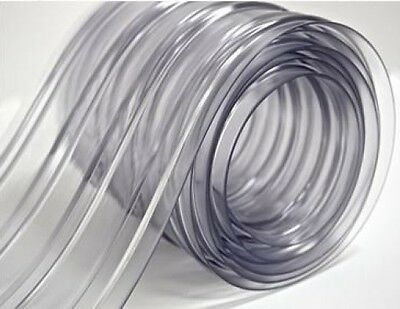 """8"""" Plastic Strip Curtain for Walk In Coolers, Warehouse Doors, and Clean Rooms"""