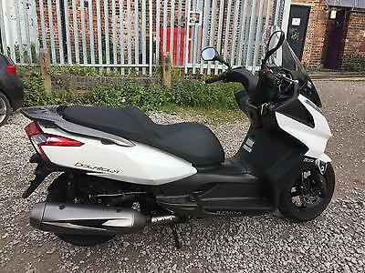 Kymco Downtown 300 I, 2016, White, 1 owner, warranty, finance,