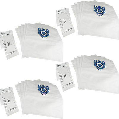 20 x GN Hoover Bags + 2 Filters for Miele Cat & Dog Classic C1 Hyclean Dust Bags