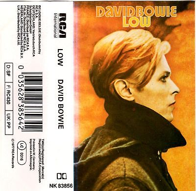 DAVID BOWIE Low RARE MC Tape MUSIKKASSETTE 1977 RCA NK 83856 Made in Germany