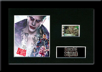 Suicide Squad 35mm Framed Mounted Film Cell The Joker Movie Memorabilia