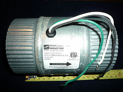 Suncourt Inc. Db 204 Inductor In-Line Duct Fan 120Vac/60Hz 1/4 Amp Csa Approved