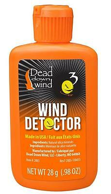 Dead Down Wind Checker Odorless Wind Detector Micro Powder Hunting Stalking NEW